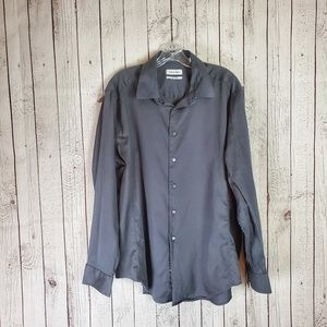 Calvin Klein 34/35 Dress Button Up Shirt